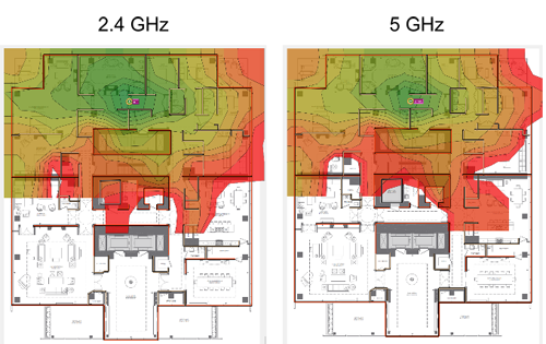 Designing 5 Ghz Wifi Networks
