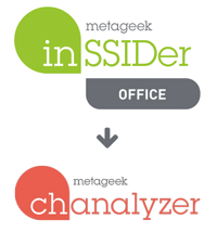 inSSIDer Office exports to Chanalyzer for in-depth wifi analysis