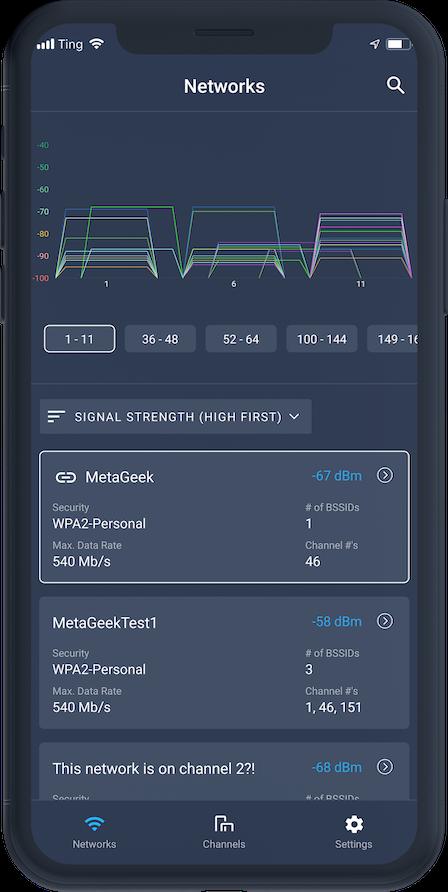 Wi-Spy Air - Mobile WiFi Testing by MetaGeek, creators of