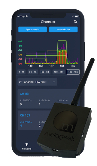 Wi-Spy Air from MetaGeek - Deploy, Troubleshoot, and Maintain WiFi Networks